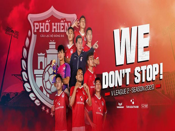 Đội hình thi đấu chính thức của câu lạc bộ bóng đá Phố Hiến